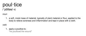 Poultice definition