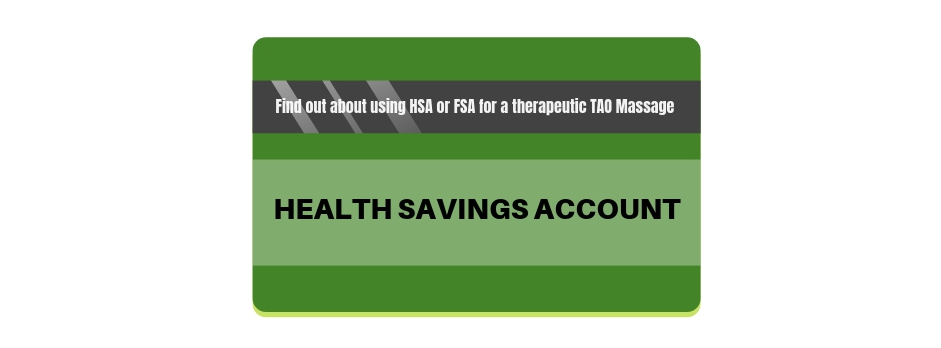 health savings account for therapeutic massage